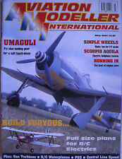 Aviation Modeller International - May 2001 Complete with Unused Plan FURYOUS