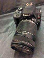 Canon EOS Rebel SL1 Digital Camera (with EFS 55-250mm lens), no battery