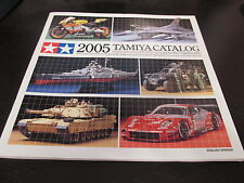 TAMIYA Catalog 2005 Japan Book Showcase Collection of Precise Scale model Kits