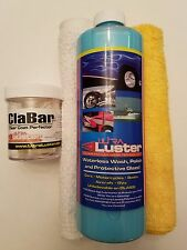 UltraLuster Waterless Car Wash n' Polish + ClaBar Polishing Clay