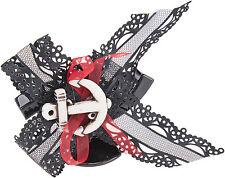 EVI Black BOW Anker SAILOR Haarklammer - 1 Stück Rockabilly