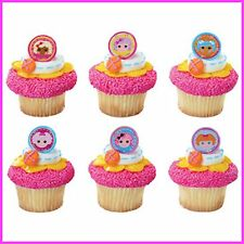18 Lalaloopsy Cupcake Ring Toppers/Favors! NEW! Birthday Supplies
