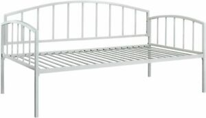 DHP Ava Metal Metal Daybed Frame Sofa Bed Twin Size Mattress White LOCAL PICK-UP