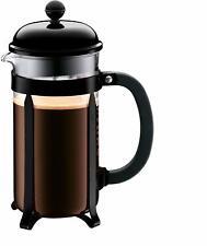 Chambord French Press Coffee Maker, Bodum, 34 oz (8 cup) Black