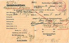 Ungeprüfte Bedarfsbrief-Dienstmarken aus dem deutschen Reich