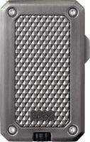 COLIBRI Feuerzeug Modell RALLY mit Laser Zündung gun gebürstet NEU OVP