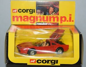 CORGI 298 MAGNUM P.I. PI Tom Selleck Ferrari 308 GTB Original 1981 Excellent