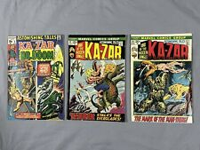 Astonishing Tales 2, 12, 13 Second & Third Man-Thing, Dr. Doom Cover 1972