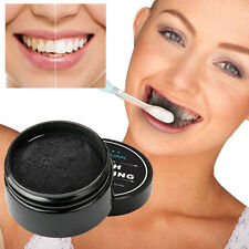 Teeth Whitening Powder Natural Organic Activated Charcoal Bamboo Toothpaste NEW