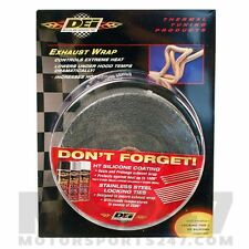 "DEI Black Exhaust Wrap Width 2"" (50mm) Length 50ft (15 metres)"
