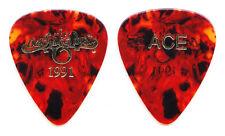 Oak Ridge Boys Duane Ace Allen Brown Faux Tortoise Guitar Pick - 1991 Tour