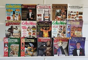 Collector Collectibles Collecting 15 Magazine Lot Comics Collection Set Run Box
