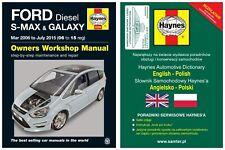 Ford Galaxy & S-Max (2006-2015) - instrukcja napraw Haynes