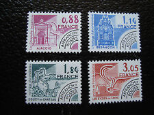 FRANCE - timbre yvert et tellier preoblitere n° 170 a 173 n** (A14)stamp french