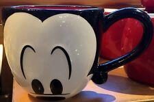 Mickey Mouse Mug Cup Eyes Signature Coffee Tea Disney World Theme Parks NEW