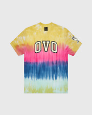 OVO Drake Octobers Very Own - Tie Dye Arch T-Shirt MULTI - MED - SOLD OUT!