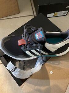 Adidas Ultra Boost All Terrain Running Sz. 10 Core Black White Teal Aqua EG8099