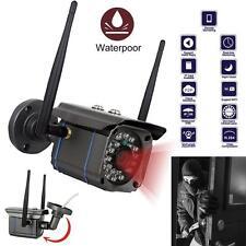 Waterproof Wireless 720P HD WiFi Outdoor IP Camera Security CCTV Night Vision