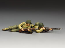"""KING & COUNTRY DD320 WWII U.S. ARMY RANGERS D-DAY """"ON THE BEACH""""  NORMANDY  MIB!"""