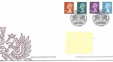 GB - FIRST DAY COVER - FDC - DEFINITIVES -2009 - 4 val to £5.00 - Pmk TH