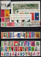 C137565/ WEST GERMANY – YEARS 1971 - 1972 MINT MNH / MH – CV 130 $
