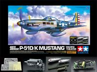 Tamiya 1/32  US Army North American P-51D / K Mustang Pacific Theater