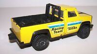 "Vintage 1970's Tonka Racing Team Yellow Metal Toy 7"" Pickup Truck"