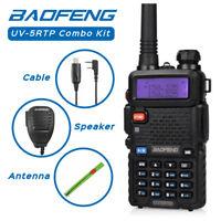 Baofeng UV-5RTP Combo Kit VHF/UHF Dual Band 8W HP Two-Way Radio Transceiver US