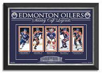 Edmonton Oilers Legends Wayne Gretzky Mark Messier Grant Fuhr Paul Coffey Kurri