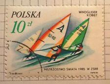Poland stamps - Windglider Kobiet  10 zloty  1985  FREE P & P