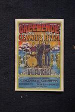 Creedence Clearwater Revival Tour Poster 1971Cincinnati #2