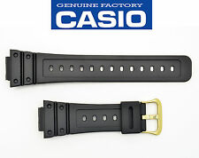 Casio G-Shock Genuine  Watch Band Black Strap DW-5600EG DW5600EG DW-5600P Band