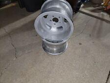 2 Vintage Ansen Sprint 15x10 Slot Wheels 5x4 34 Rim Mag Wheel Rat Rod Gasser