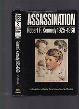 Assassination: Robert F. Kennedy 1925-1968, UPI & Cowles, 1968, 1st ed HC w/DJ