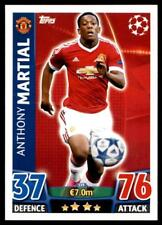 Match Attax Champions League 15/16 Anthony Martial Manchester United FC No. 339