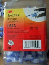 NIB 3M Scotchlok MU10BCX 12-10AWG Butt Connectors ...... 50//PK