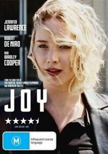 JOY DVD JENNIFER LAWRENCE REGION 4 NEW AND SEALED