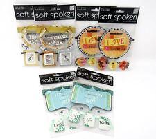 "Bulk Lot #61 6 packs Mambi Soft Spoken Banner Stickers 24 pcs + 114"" Ribbon"