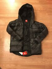 Women's Nike Uptown 550 Down Puffer Cocoon Jacket Coat 683928 Black Size M $325
