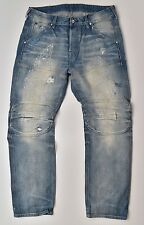 G-Star Raw Elwood 5620 3d straight 25yr worn RL Denim Jeans w34 l32 nuevo!!!