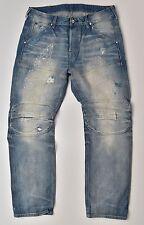 G-Star Raw Elwood 5620 3d straight 25yr worn RL Denim Jeans w34 l32 nuevo!!!
