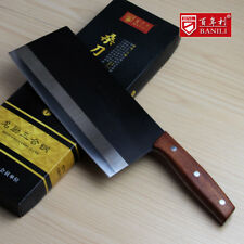 205mm Blade Massive Knife Forged Steel Slice Chop Bone Knives Hard Fish Steak XL
