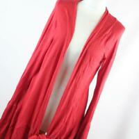 Atmosphere Red Womens Cardigan Size 16