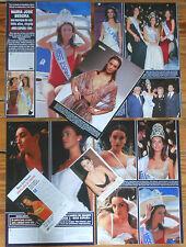 MARIA JOSE BESORA Miss España 1998 prensa fotos spain spanish model sexy