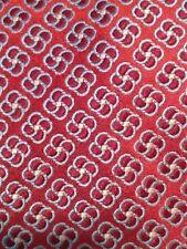 "IKE BEHAR Red Geometric Floral Tie  61"""