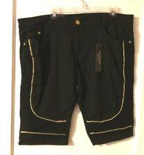 M. Society Men's Size 38 Black Shorts NWT