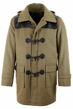 Hooded Wool Unbranded Coats & Jackets for Men