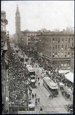 DENVER CO~1900's PARADE ON SIXTEENTH STREET ~ D & F TOWER