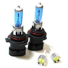 Lexus RX HB4XS 501 55w Super White Xenon HID Low/Slux LED Side Light Bulbs Set
