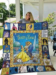 Kids Warehouse Beauty and The Beast Sweet Memories Belle Throw Blanket